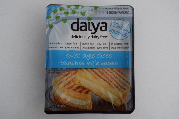 Fromage en tranche Daiya - Suisse